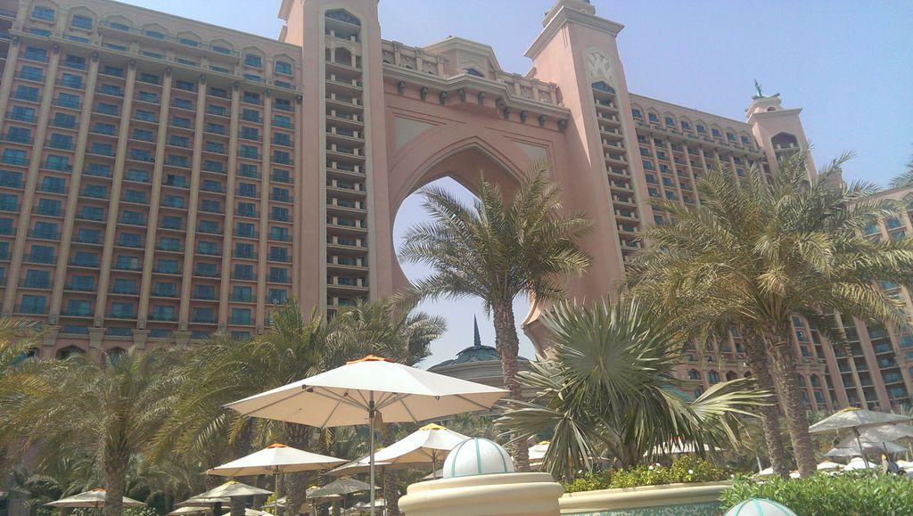 Atlantis the palm vom Privatstrand