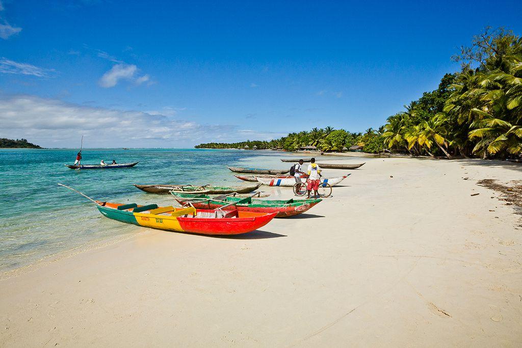 Entspannung am Strand der Île aux Nattes