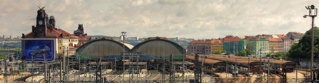 Der Prager Hauptbahnhof