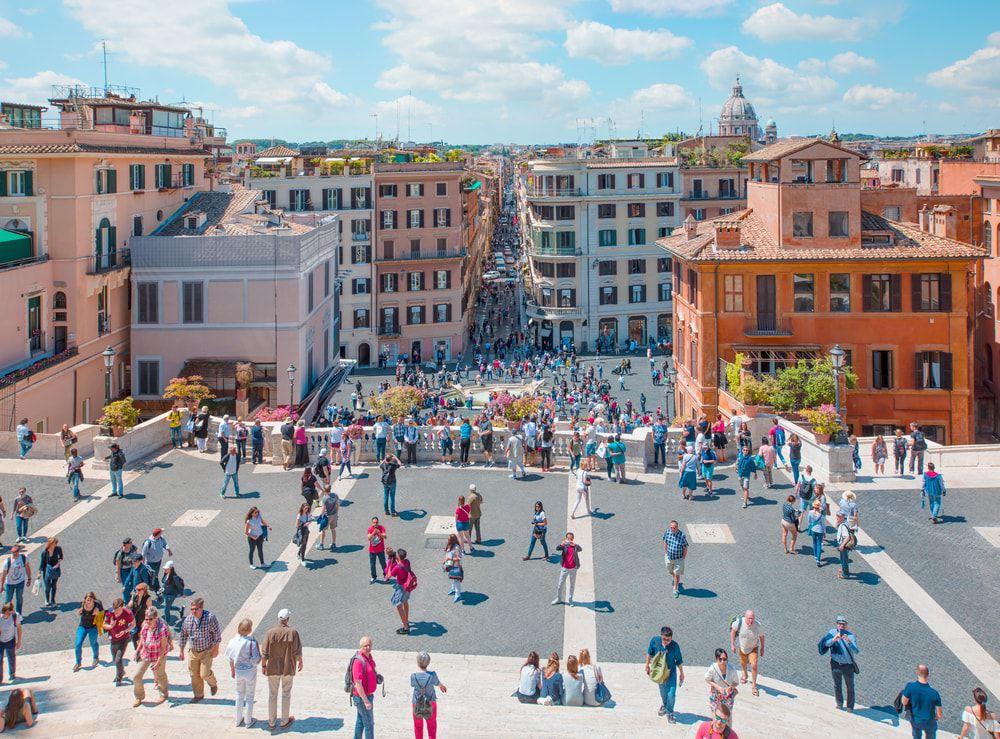 Die Piazza di Spagna