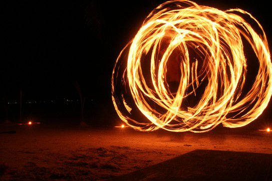 Fire, Koh Tao