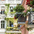 Balkone in Berlin Kreuzberg