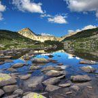 Gletscherfluss im Nationalpark Pirin