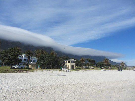 Tafelberg in den Wolken