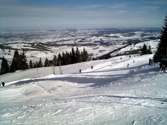 Skifahren am Grünten im Allgäu
