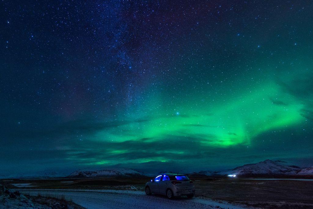 Die schönsten Polarlicht-Orte in Europa: Färöer