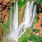 Die Ouzoud-Fälle gelten als die schönsten Wasserfälle Marokkos