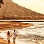 Hawaii trumpft mit unglaublichen Sonnenuntergängen und traumhafter Kulisse auf