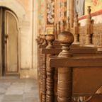 Gebetsstuhl im Rila Kloster