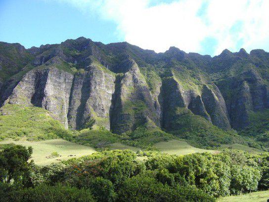 Felsformation auf Oahu Hawaii