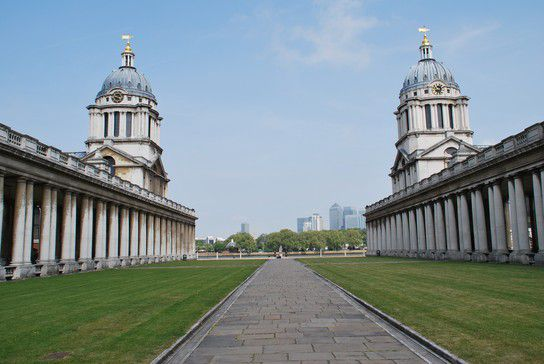 Parkanlage in Greenwich