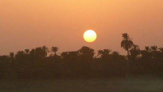 Es wird Nacht am Nil