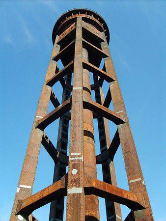 Wasserturm auf dem Schöneberger Südgelände