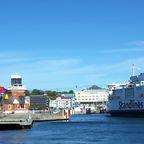 Fähre im Hafen von Helsingør