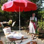 Frühstück im Garten / Breakfast in the Garden