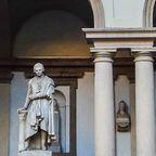 Außenansicht der Pinacoteca di Brera