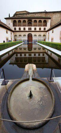 El Partal mit Brunnen