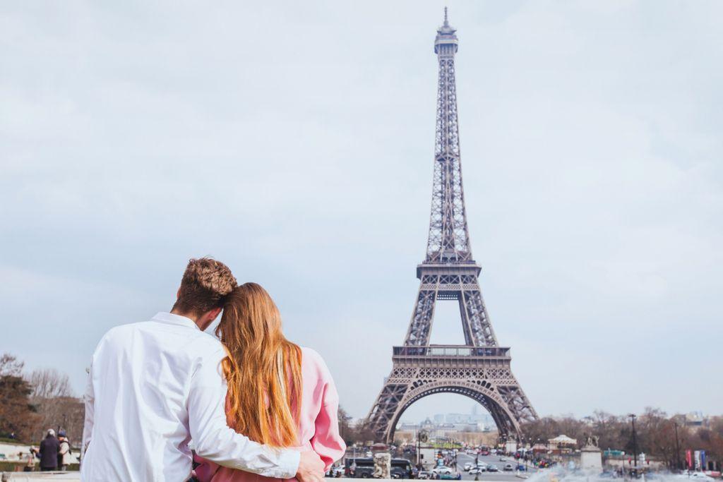 Frühling in Paris: Eiffelturm