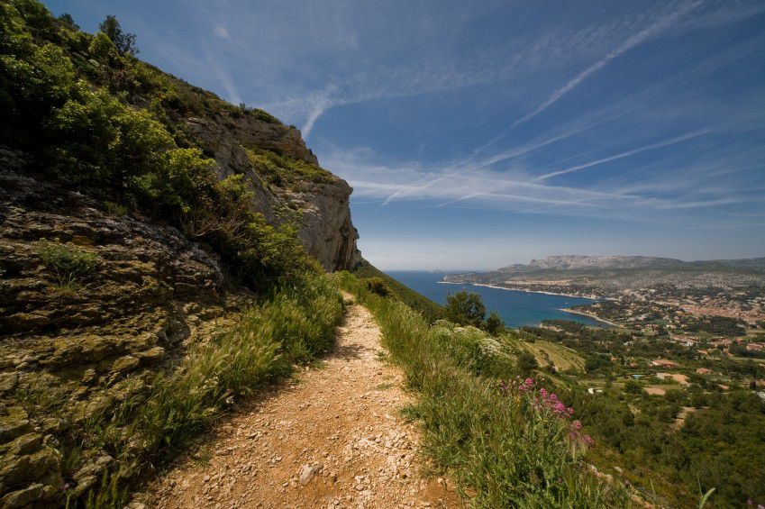 Wanderweg entlang der Calanques