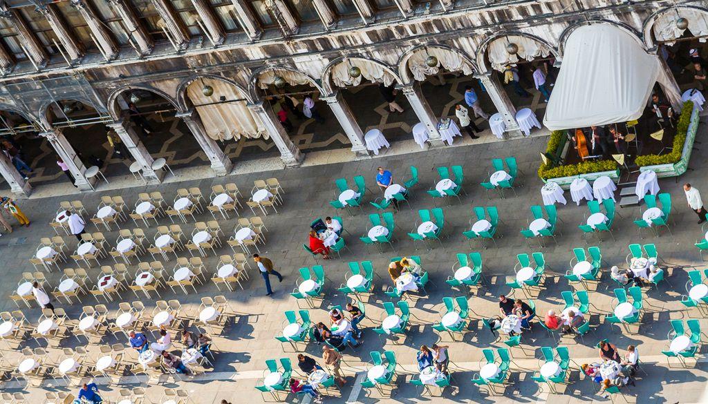 In Venedig hat der Kaffeegenuss eine lange Tradition
