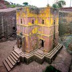 Erste Welterbestätten: Felsenkirchen von Lalibela