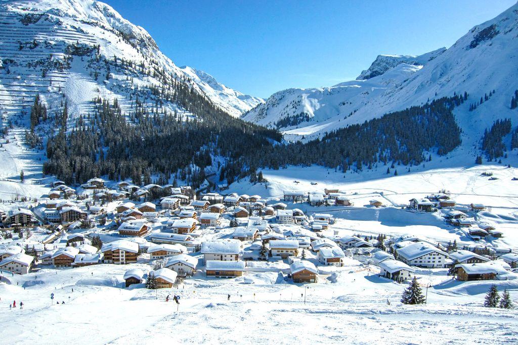 Platz 1 der teuersten Skiorte in Europa: Lech am Arlberg
