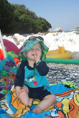 Gabriel on Beach