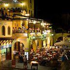Rhodos-Stadt bei Nacht