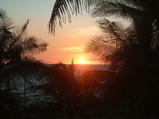 Sonnenuntergang Santiago de Cuba