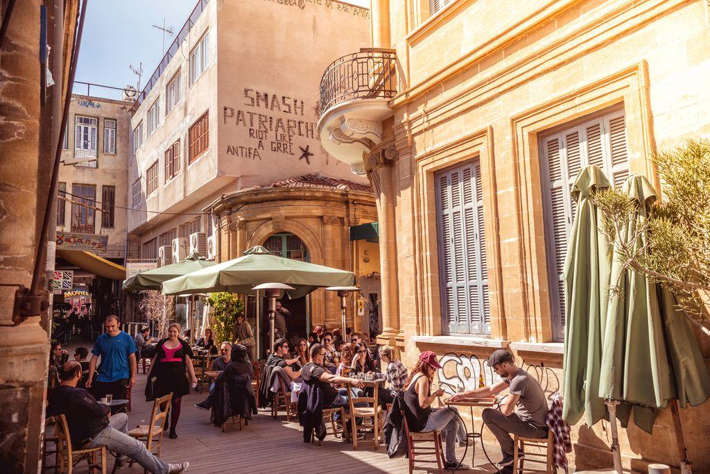 Ledrastraße in Nikosia