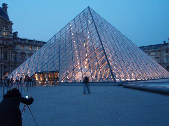 Louvre Eingang