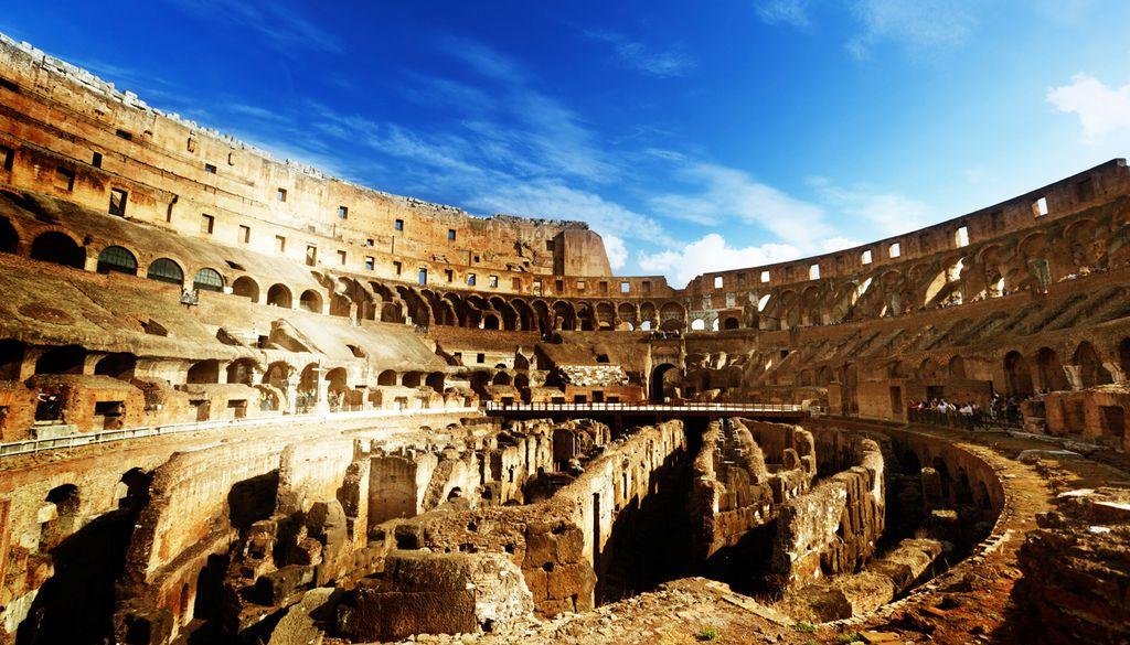 Das Kolosseum dient auch als Monument gegen die Todesstrafe