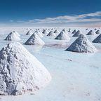 Die größte Salzpfanne der Welt befindet sich in Bolivien