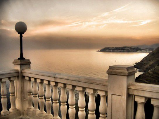 Abendstimmung an der Costa del Sol