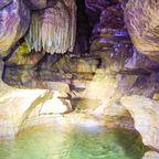 Im inneren der Falkensteiner Höhle