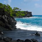 Punaluu Beach, Big Island