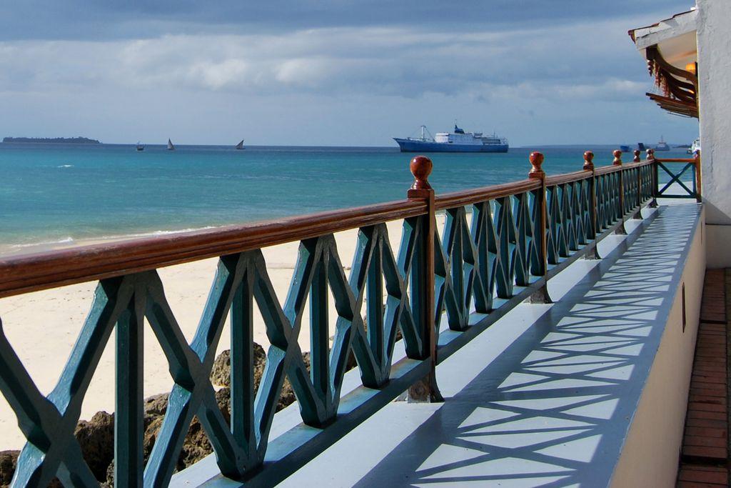 Ausblick auf das Meer in Sansibar