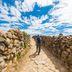 Wanderer auf der Isla del Sol