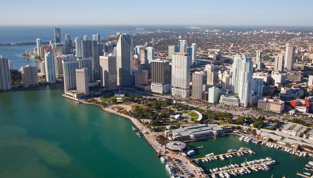 In Downtown Miami lassen sich atemberaubende Aussichten genießen