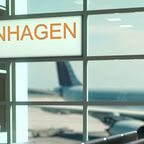 Flug nach Kopenhagen