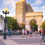 Der Washington Arch im Washington Square Park