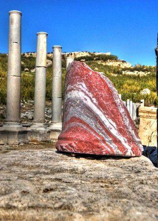 Die Ruinen von Perge