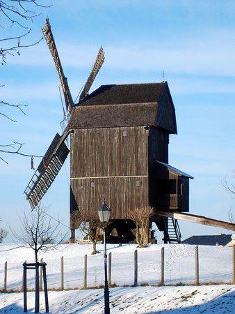 Bockwindmühle in Werder ( Havel )