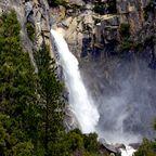 Wasserfall im Yosemite-Nationalpark