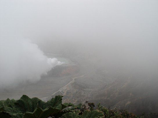 Krater Vulkan Poas