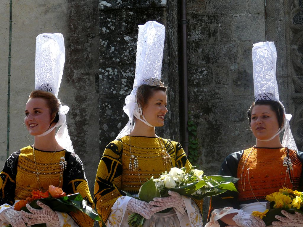 Traditionelle Kleidung in Pont-l'Abbé