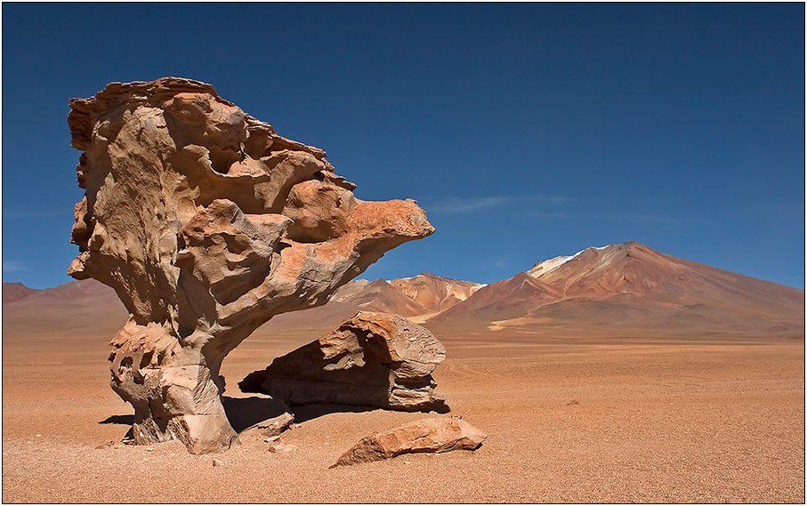 El Arbol de Piedra, Bolivien