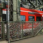 Die Liebesschlösser von Köln