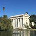 Mausoleum auf dem Hollywood Forever Friedhof