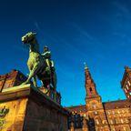 Statue von König Christian dem 9. in Kopenhagen